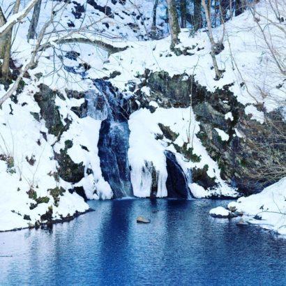 吾妻郡中之条町 桃太郎の滝