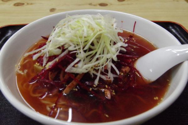 扇屋 ビーツ麺