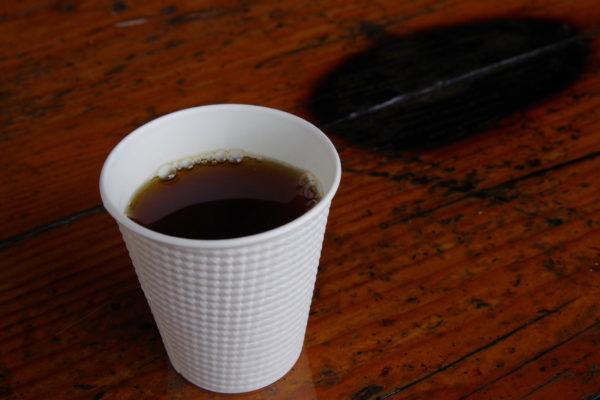 高崎クリスマスローズガーデン コーヒー