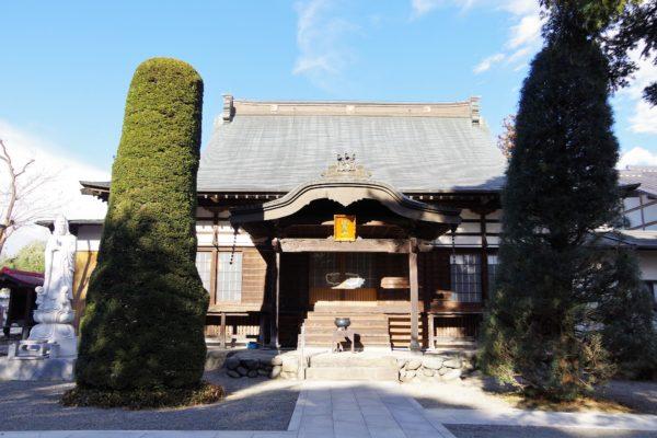 海雲寺 本堂