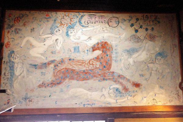 芭蕉 壁画