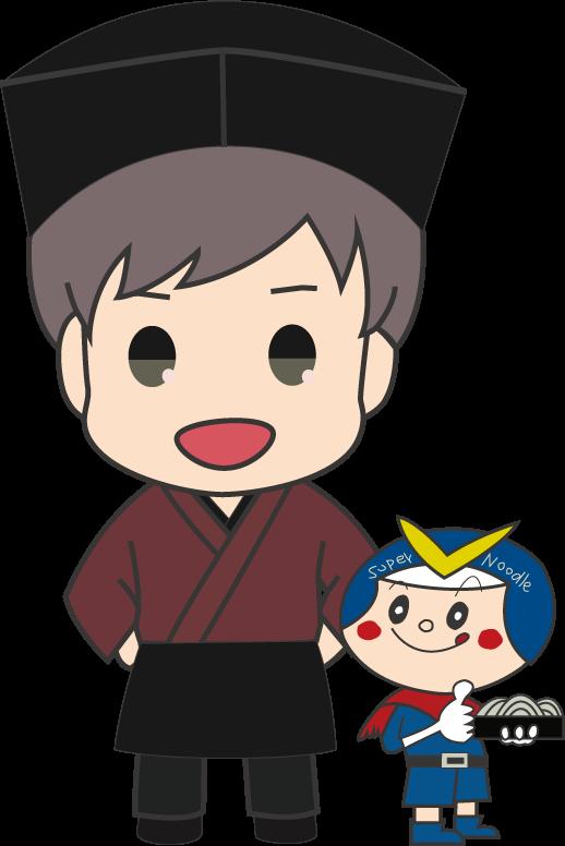 """""""サクッ!!とまえばし キャラクターとソースかつ丼めぐり 真心庵そばひろ"""