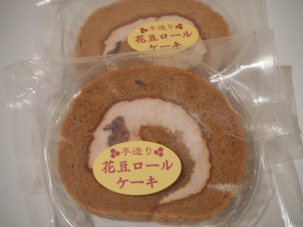 花豆 ロールケーキ