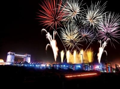 音と光の花火大会 ぐんまフラワーパーク