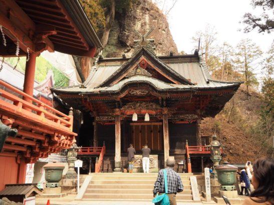 榛名神社 パワースポット 御朱印 本殿