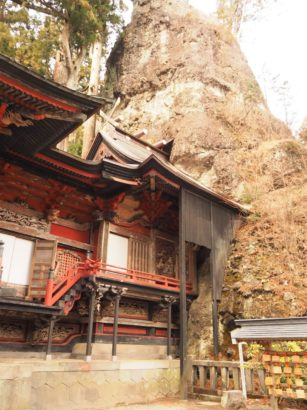 榛名神社 パワースポット 御朱印 御姿岩