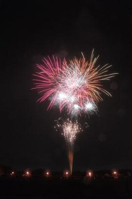 新町ふるさと祭り「花火大会・灯篭流し」 群馬県 花火大会