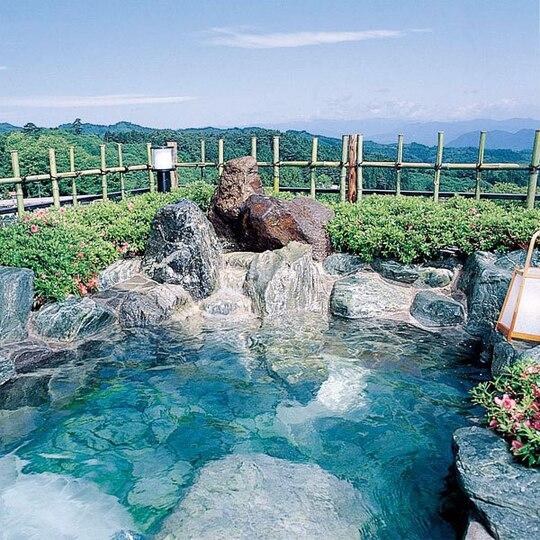 旅館さくらい 露天風呂