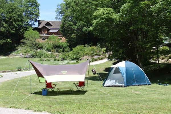 テント 星の降る森 沼田市 キャンプ場