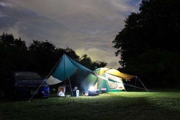 自然を満喫できるキャンプ 星の降る森 沼田市 キャンプ場