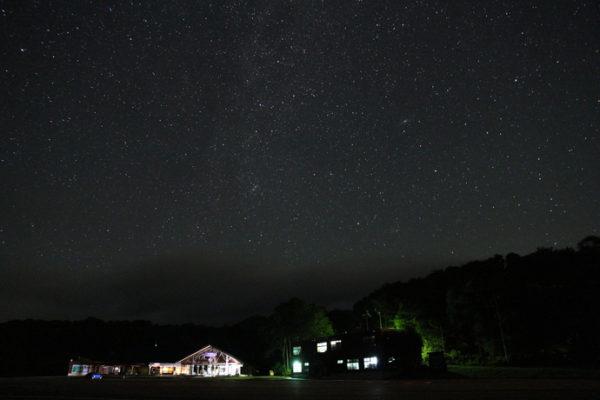 見事な星空 たんばら 星空 沼田市