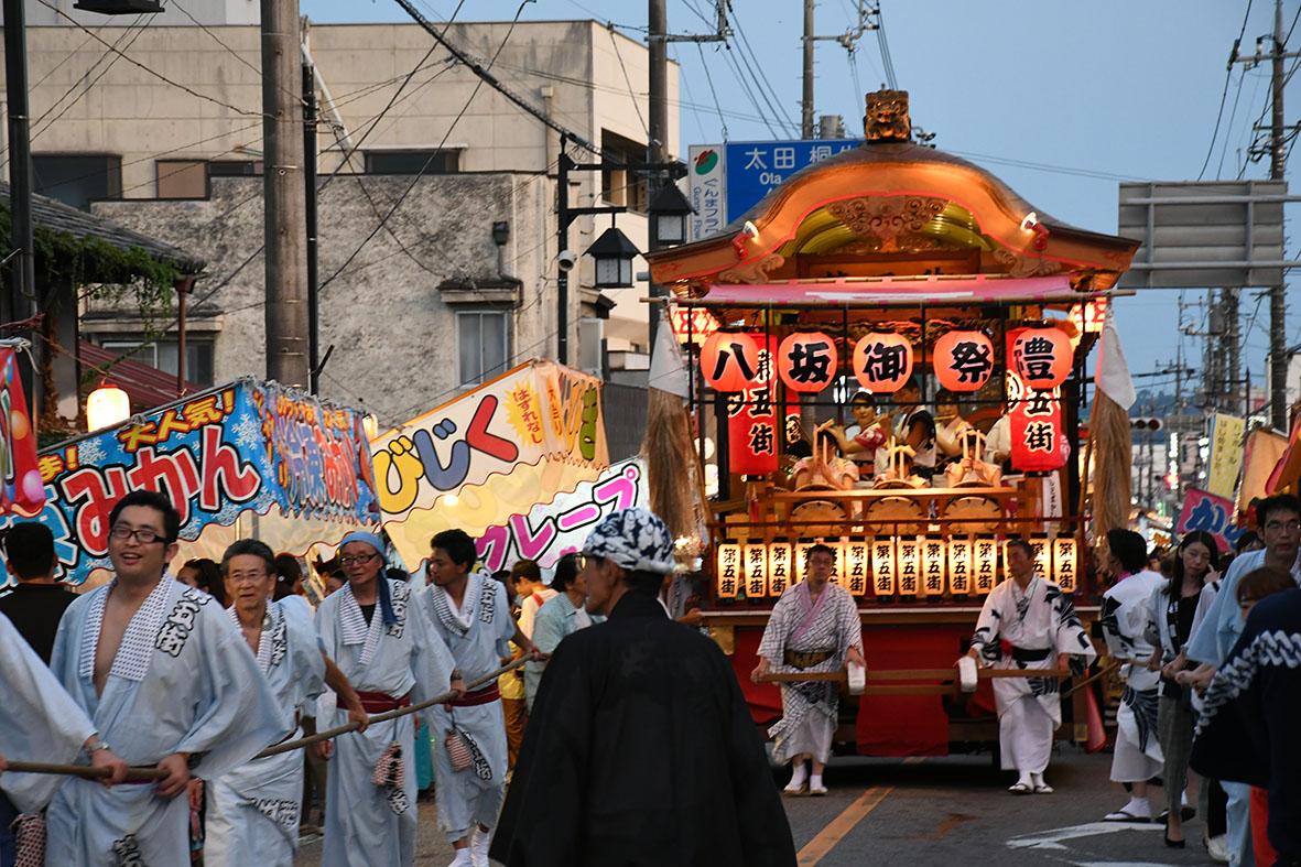 大間々祇園まつり 神輿