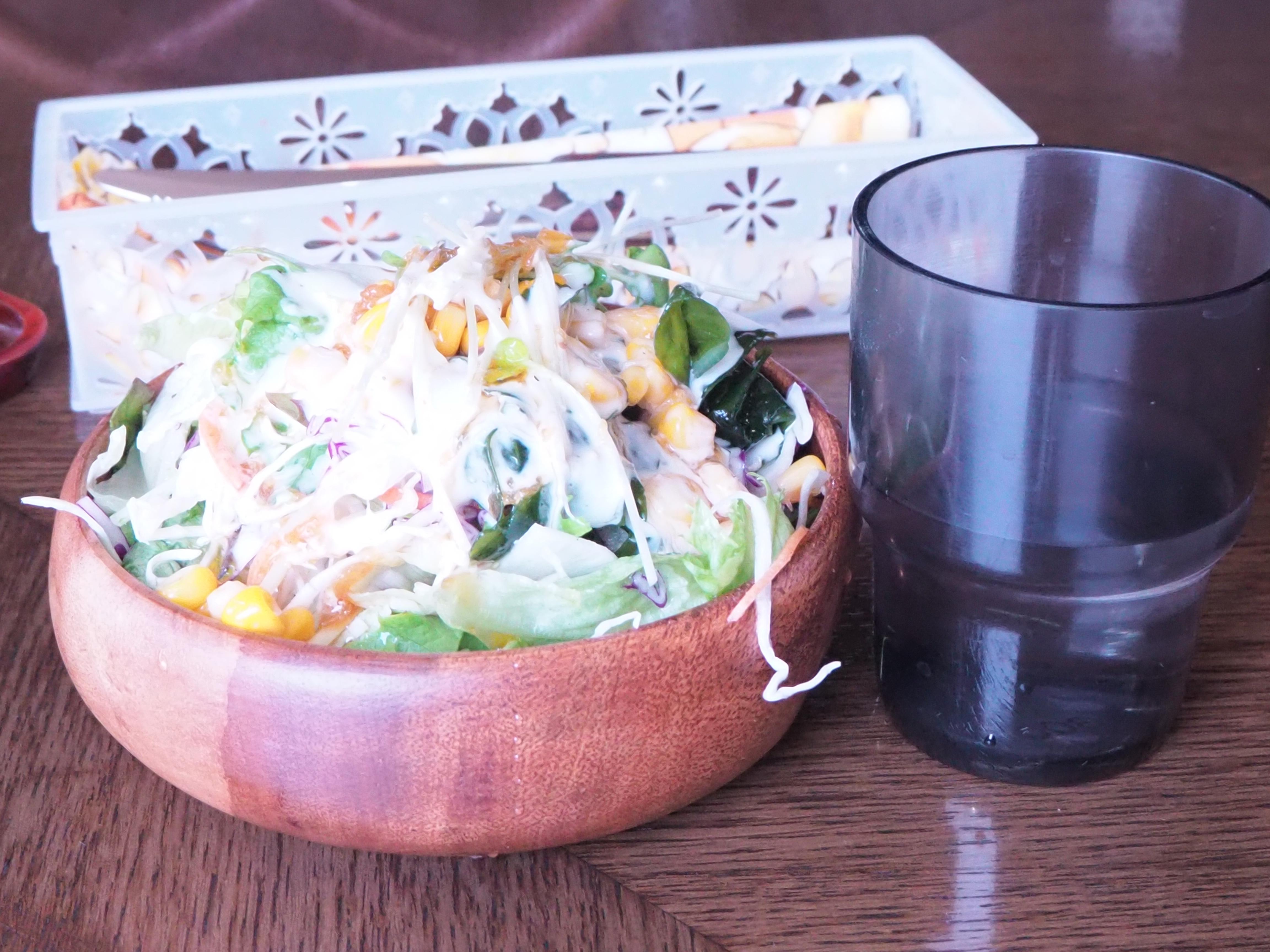 サラダ グラス