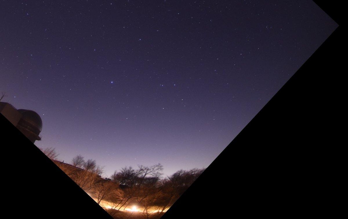 天体観測 イメージ