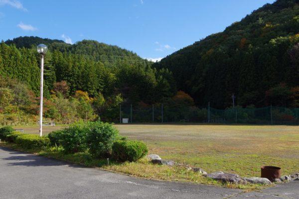 下仁田の街がが一望できるバーベキューサイト ほたる山公園 下仁田町