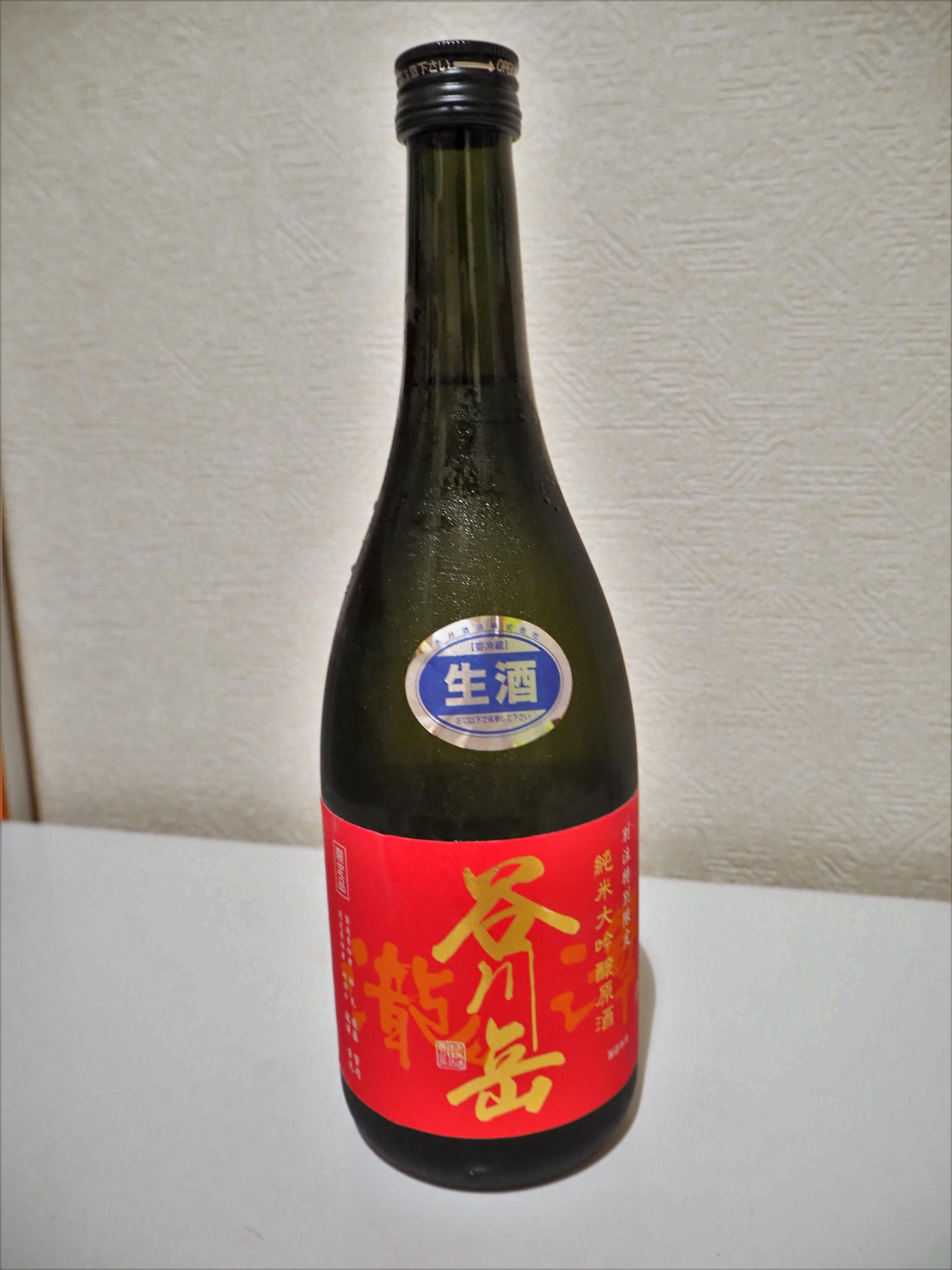 谷川岳純米 大吟醸赤ラベル