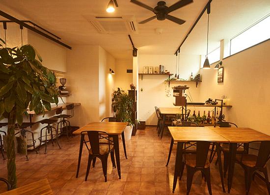 Cafe&Dining Bar Vingtie 店内