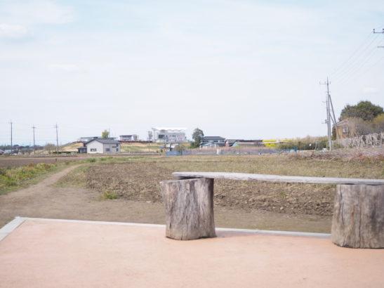 三県境 ベンチ
