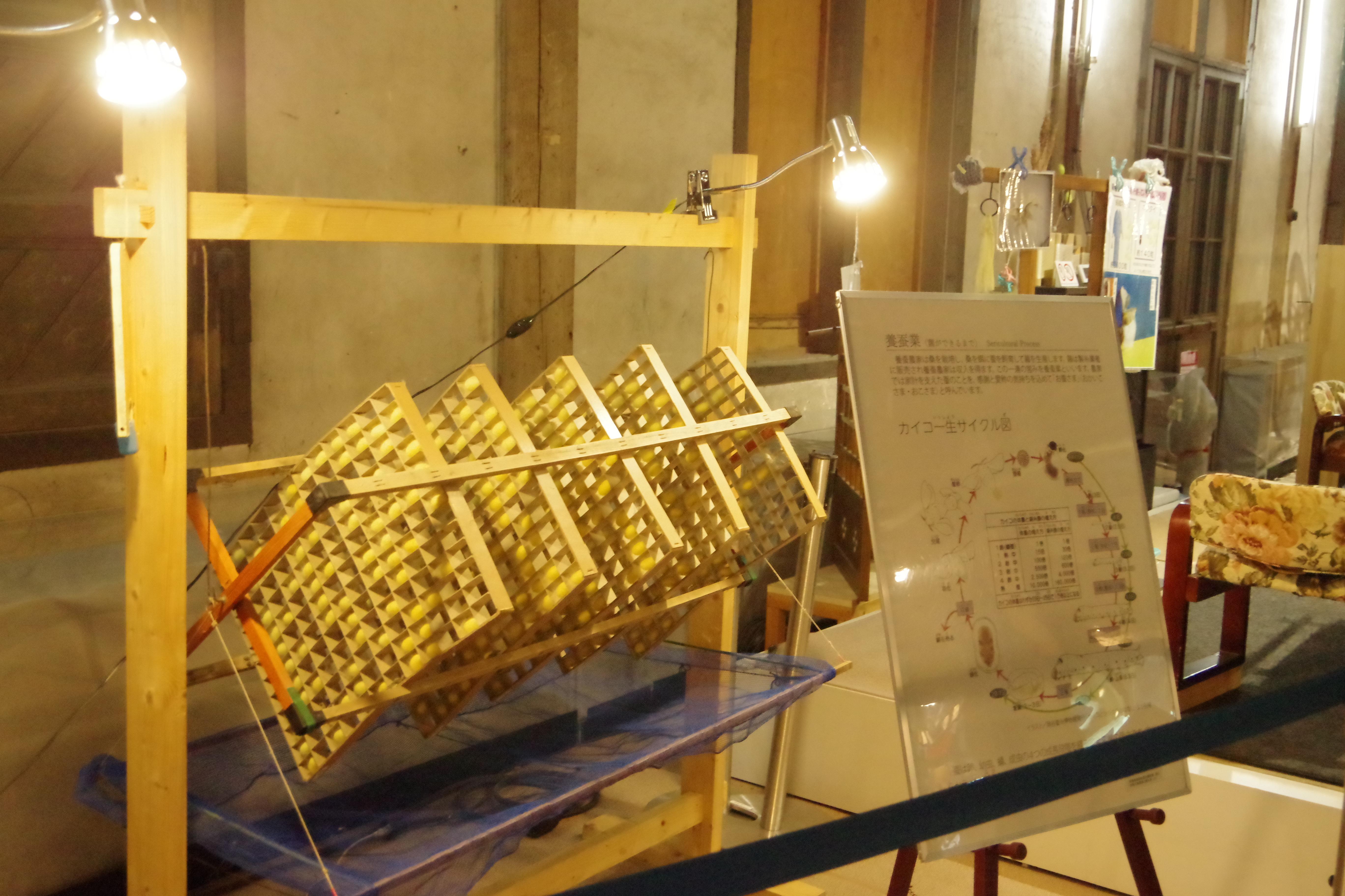 富岡製糸場 展示物