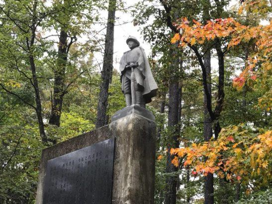 牧水まつり 銅像