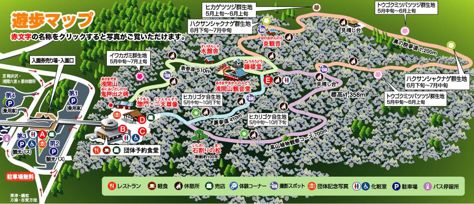 遊歩 マップ