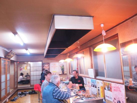 群馬県藤岡市 焼肉宝来軒 店内写真