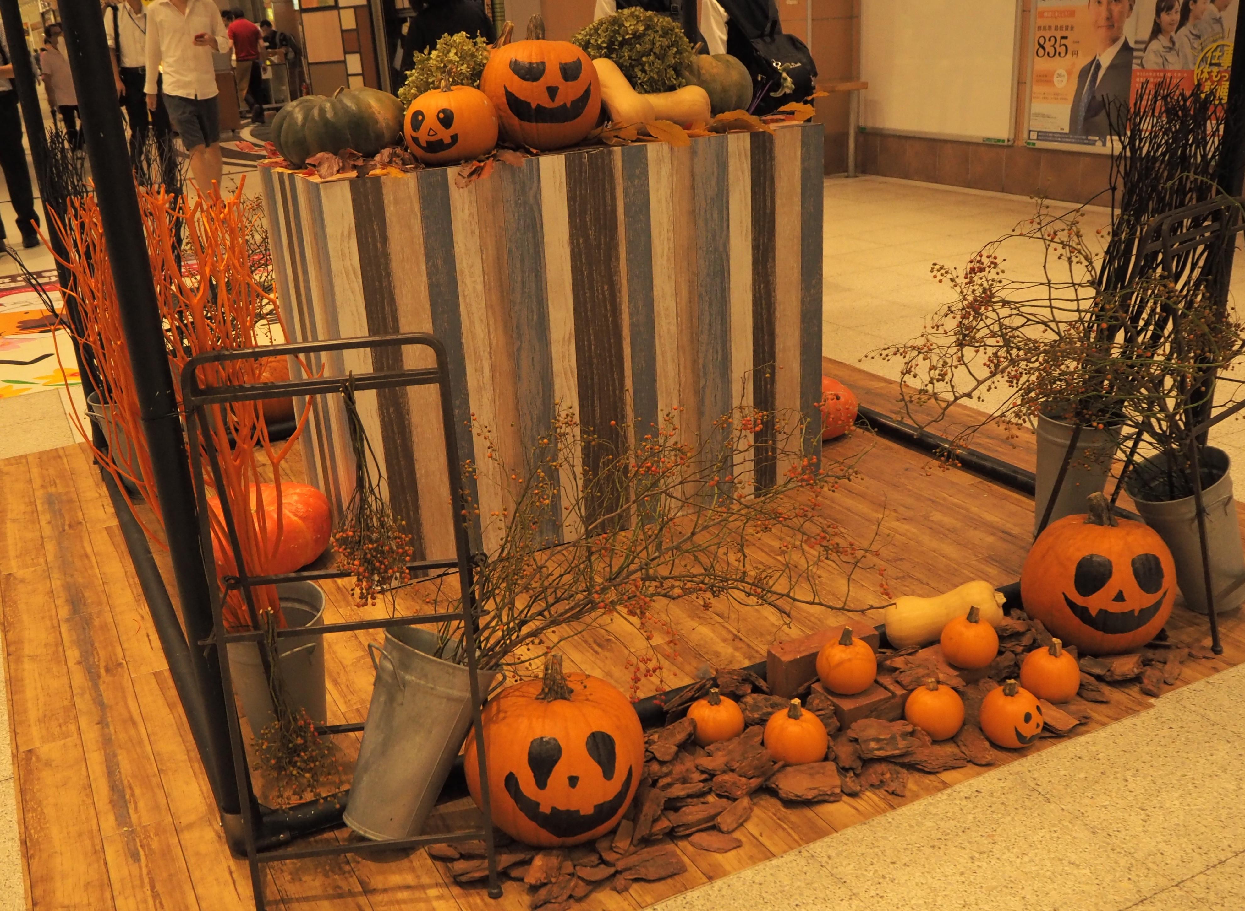 たかさきハロウィン かぼちゃ