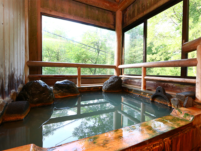 木石づくり 浴槽