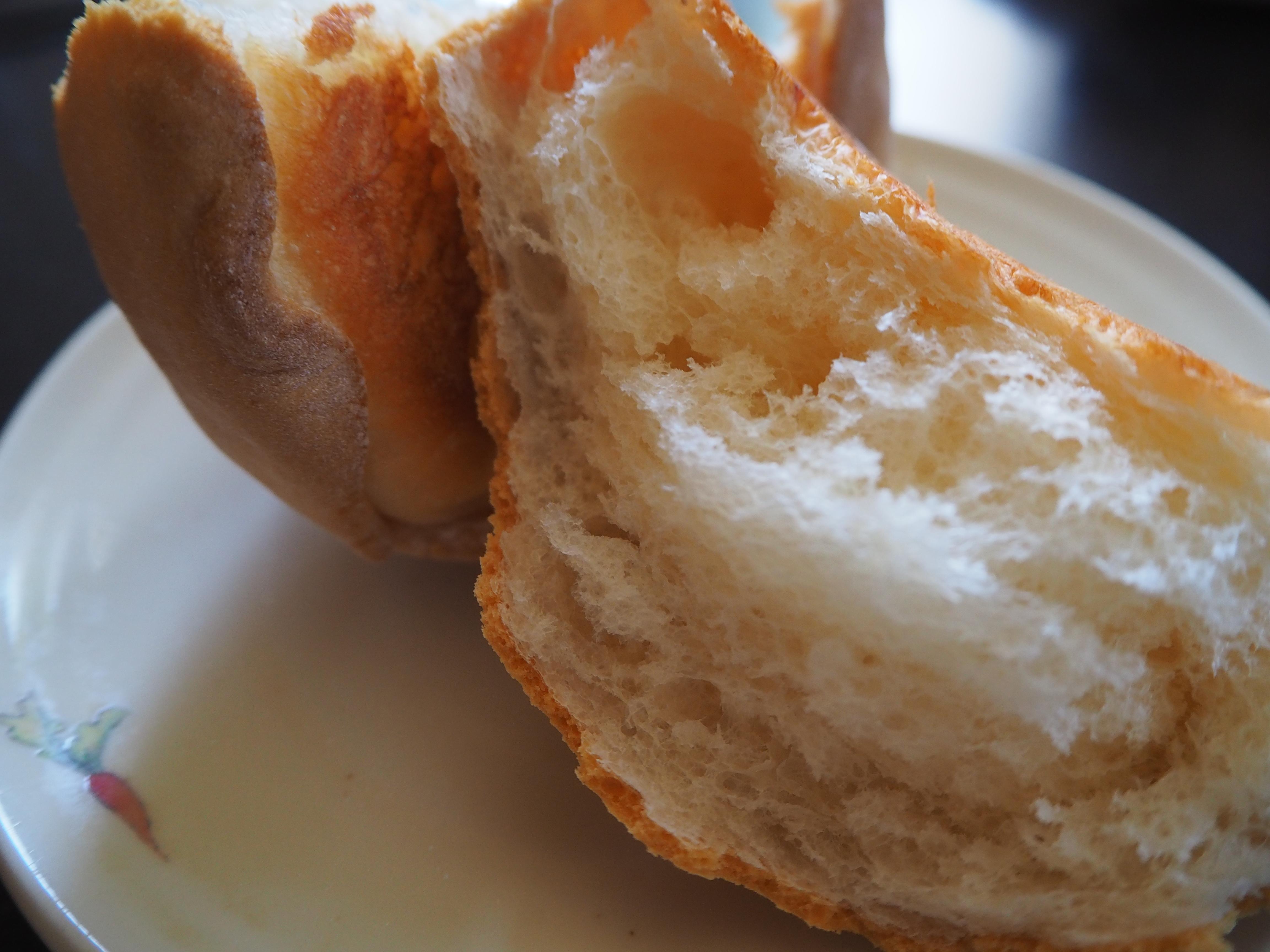 たまごパン 断面
