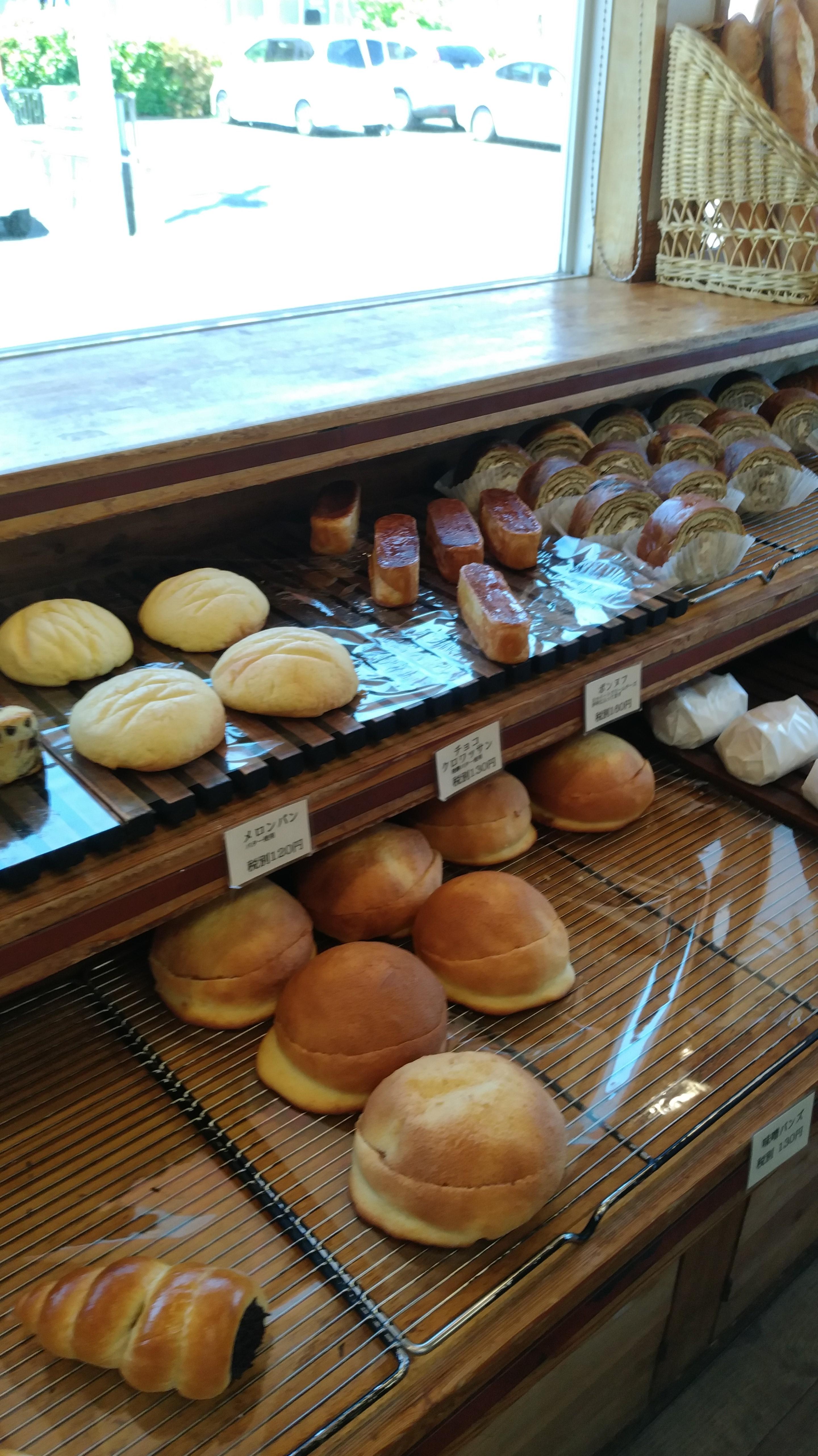 店内 パン