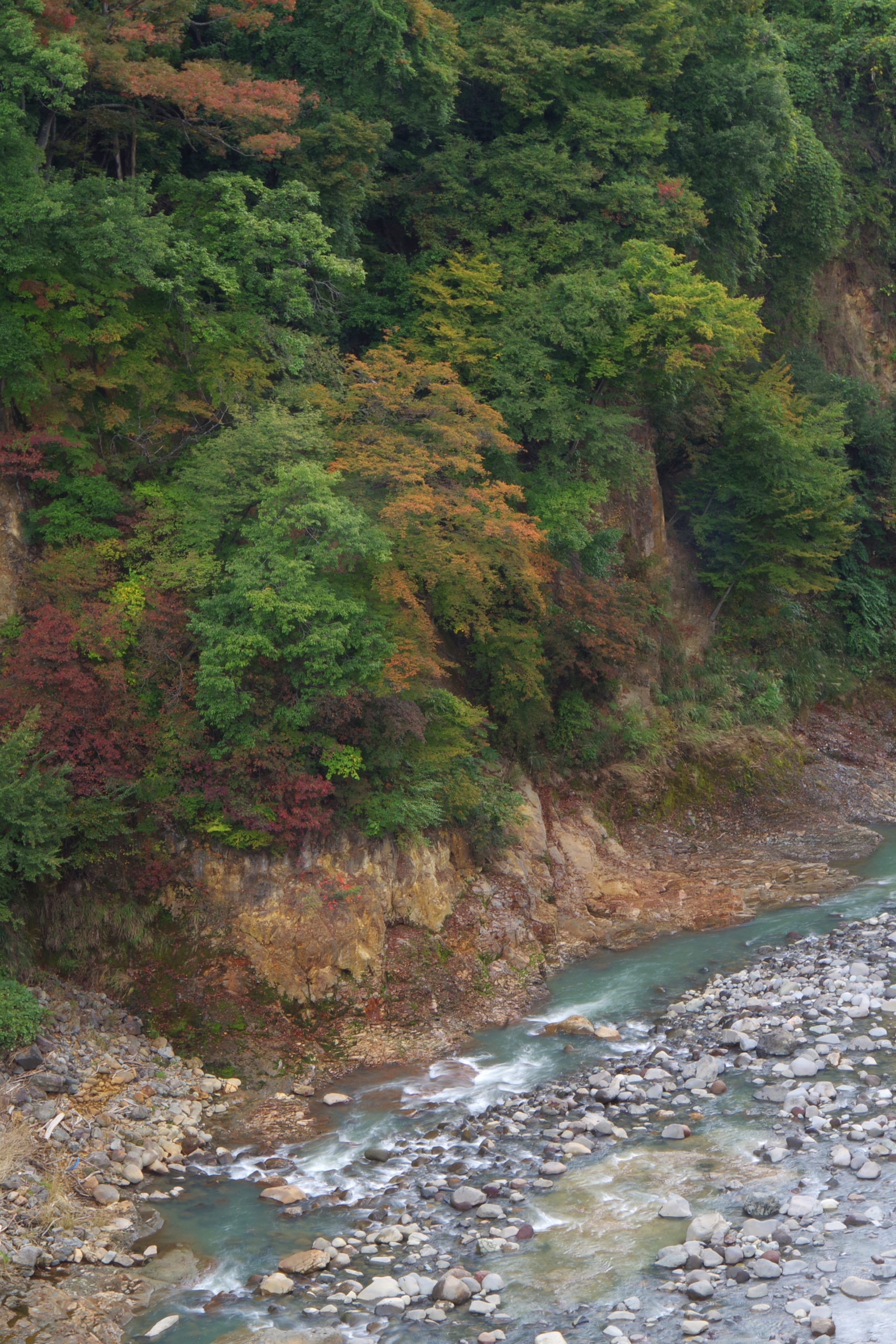 八ツ場ダム 渓谷