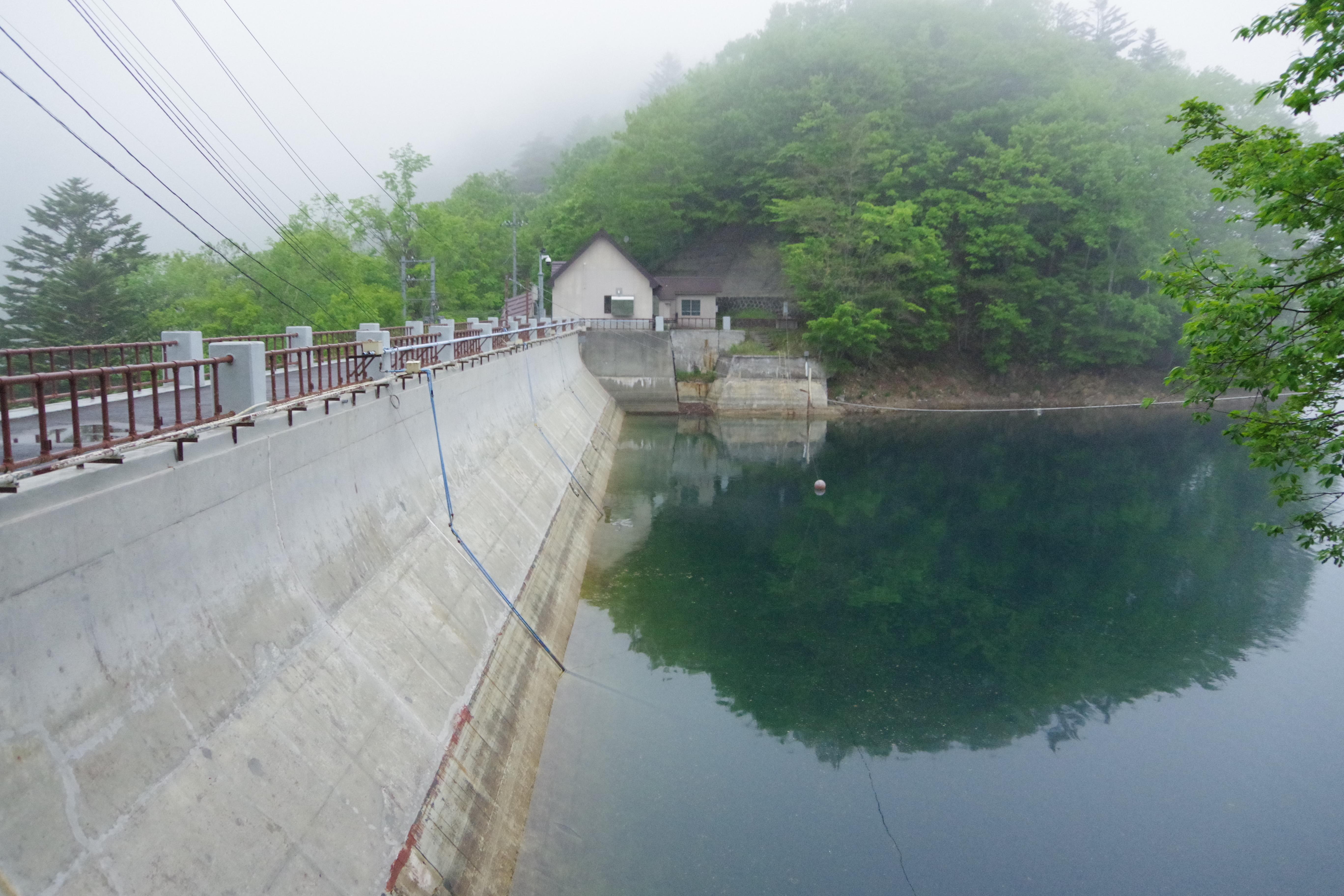 丸沼ダム ダム