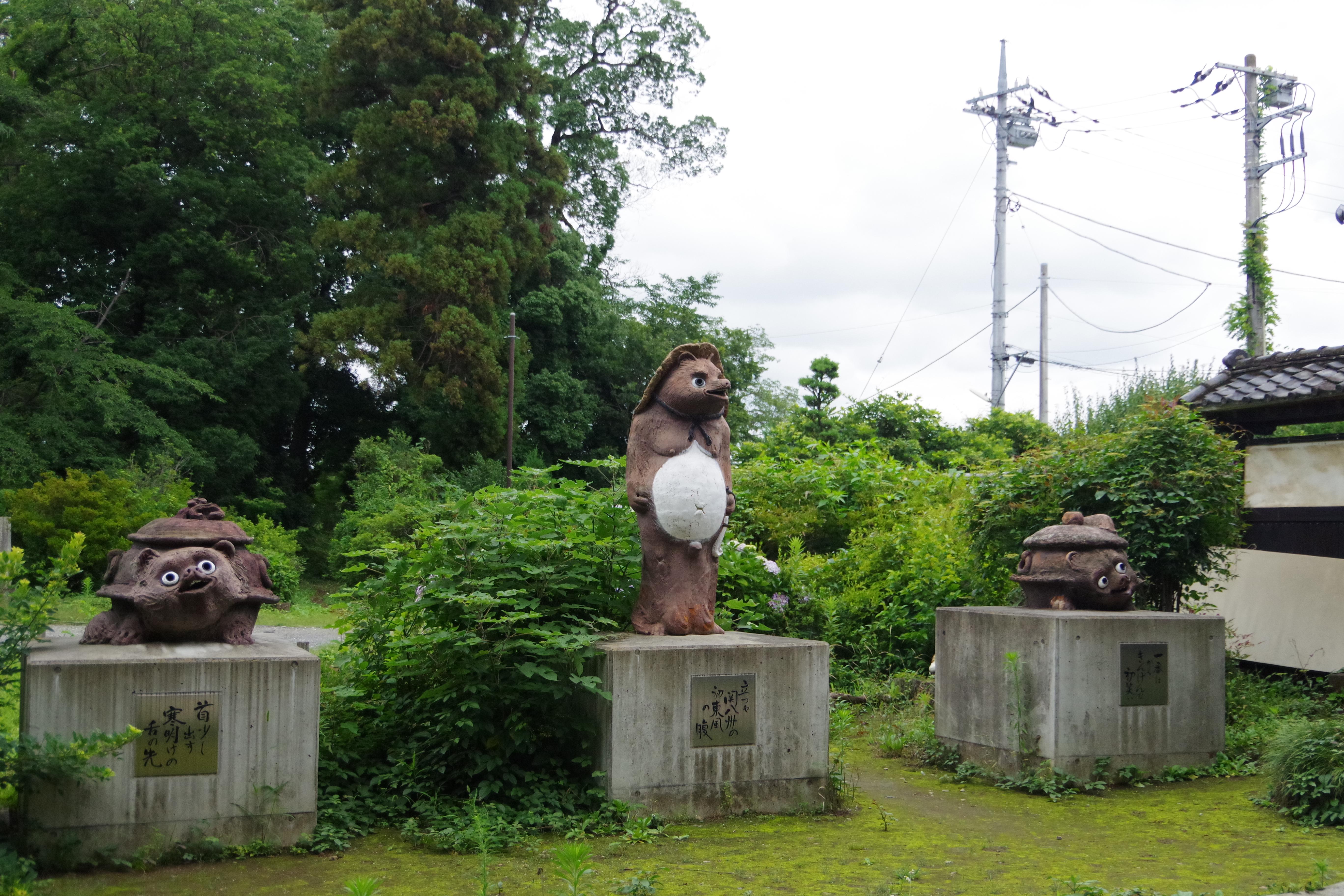 茂林寺 たぬき