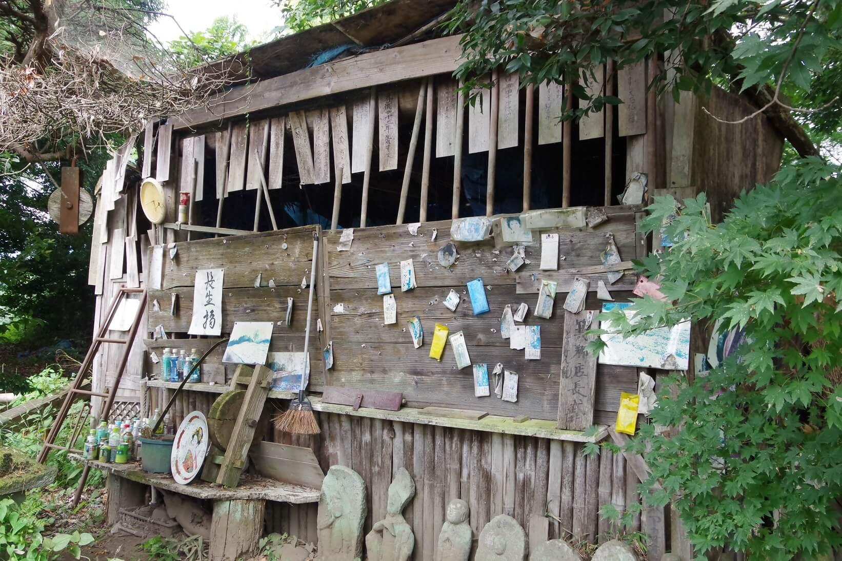 世にもふしぎの木 看板