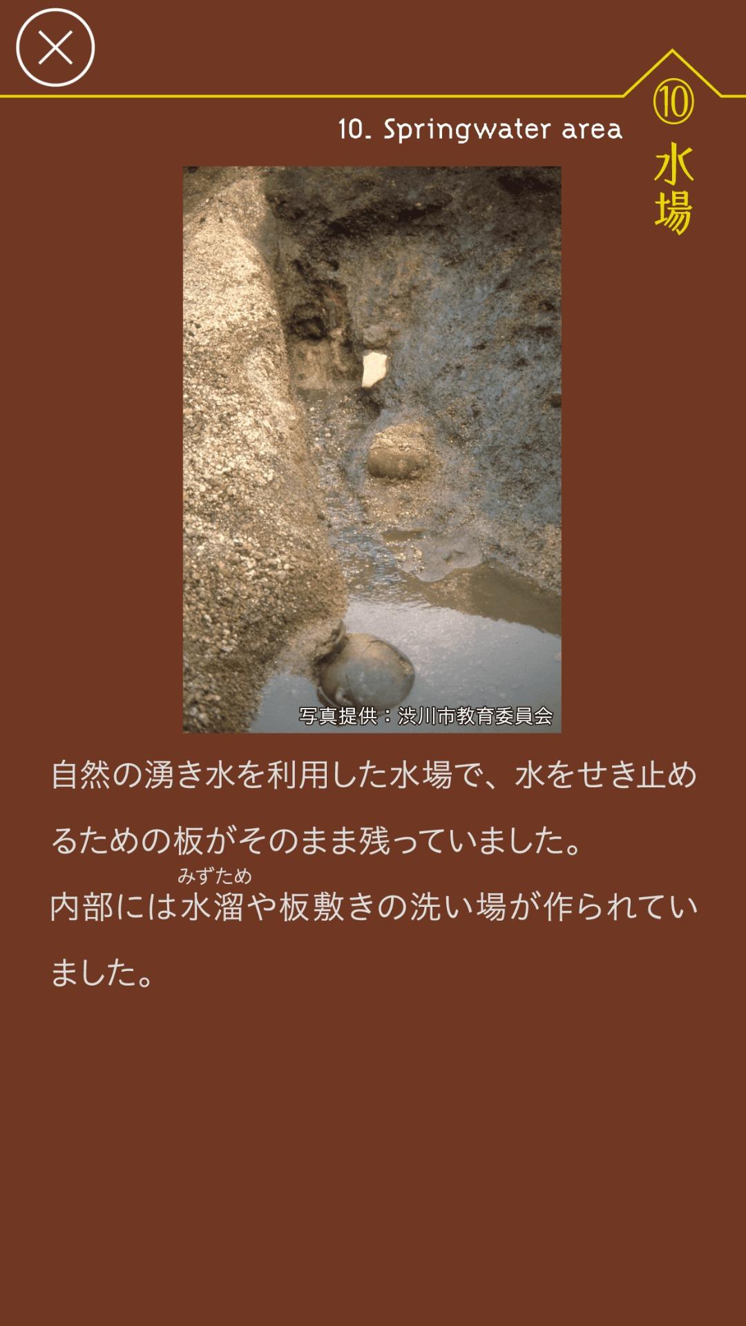 黒井峯トラベル 水場