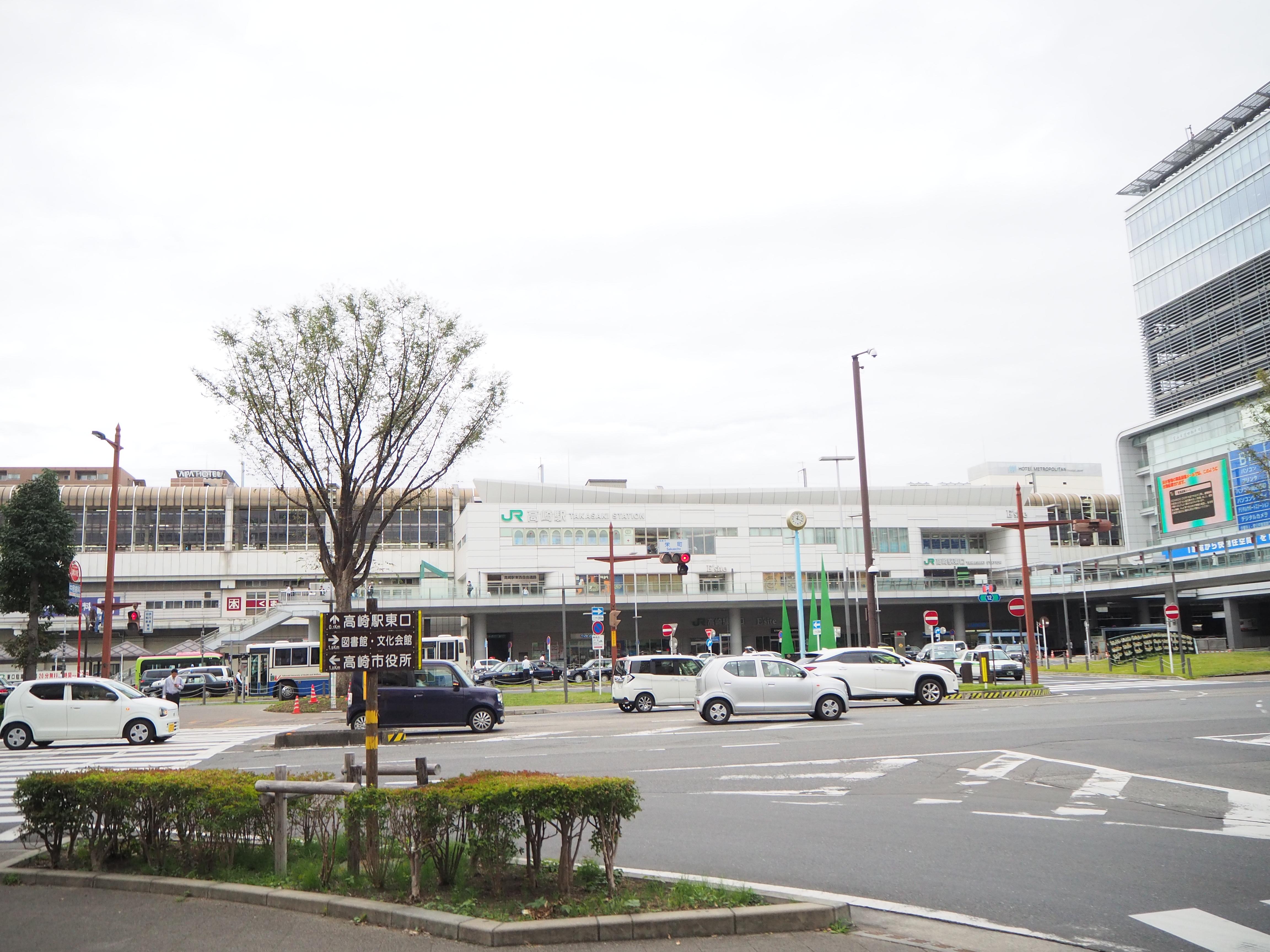 高崎駅 ロータリー