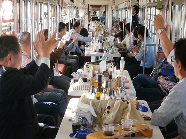 上信電鉄 ワイン列車