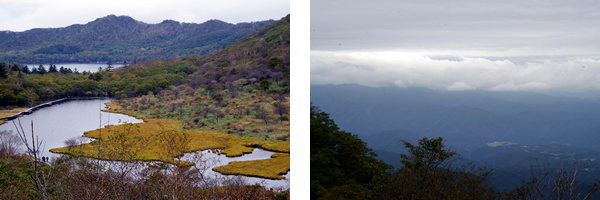 県立赤城公園から見下ろす風景