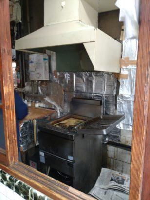 小林精肉店 厨房