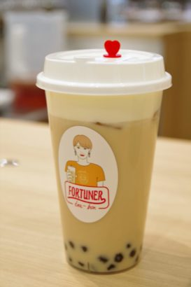 FORTUNER tea-box アイスチーズティー