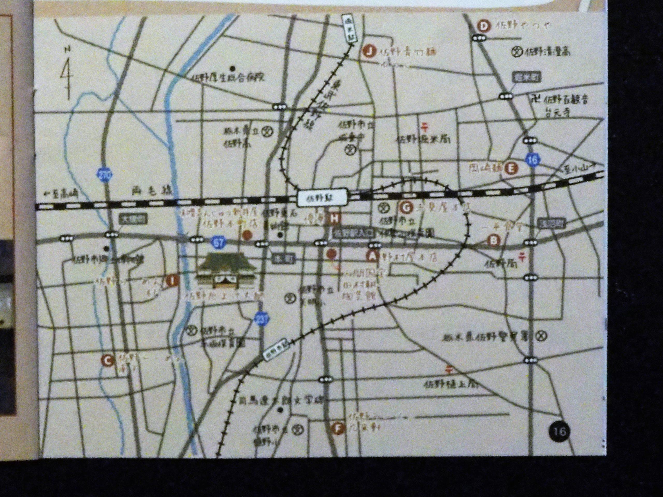 佐野 地図