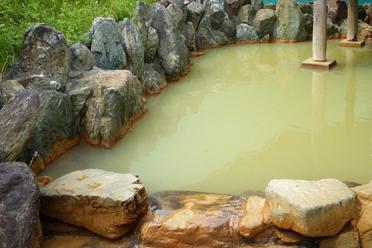 相間川温泉 お湯