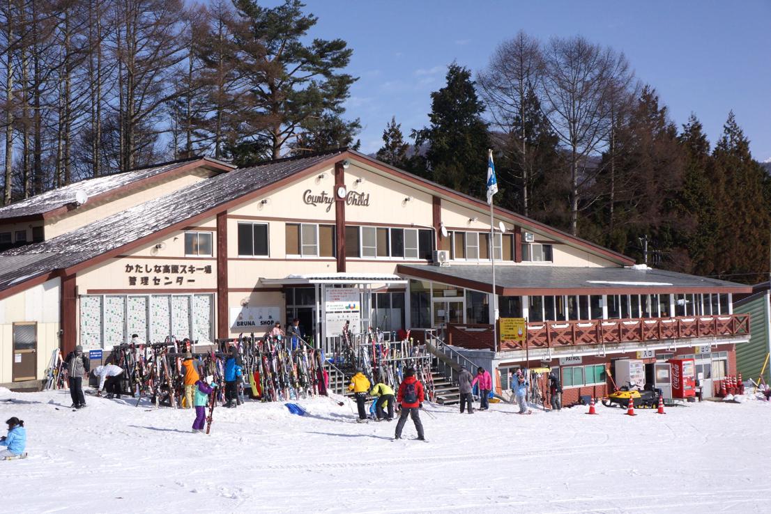 スキー場 かたしな高原スキー場