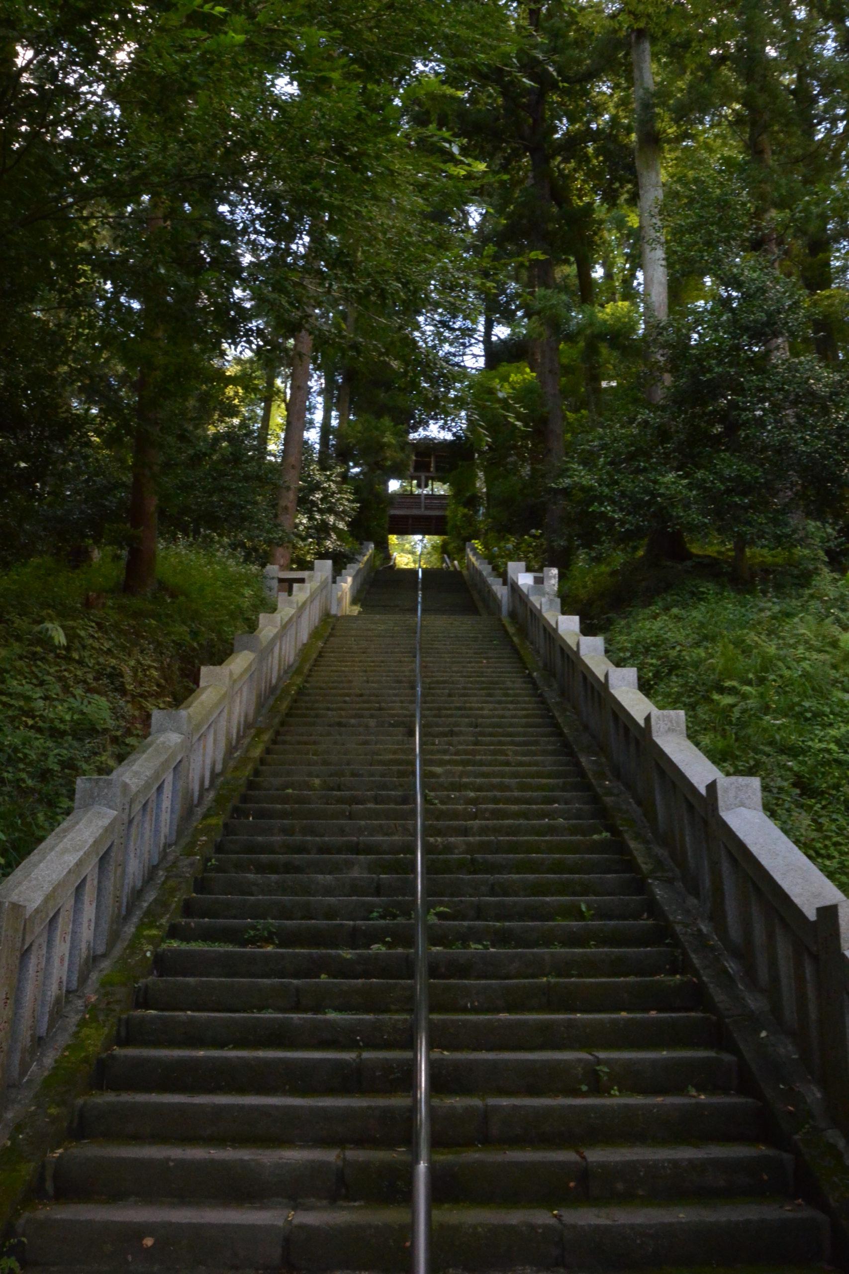 少林山達磨寺 階段