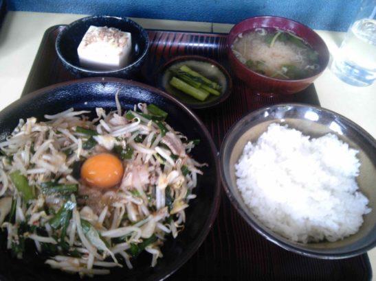 大豪 炒め定食