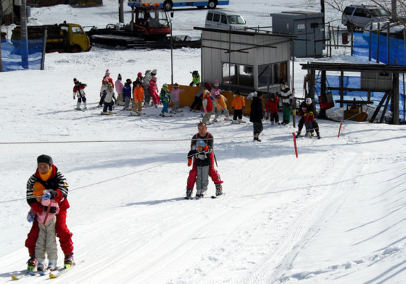 みなかみ町営赤沢スキー場ロープ塔