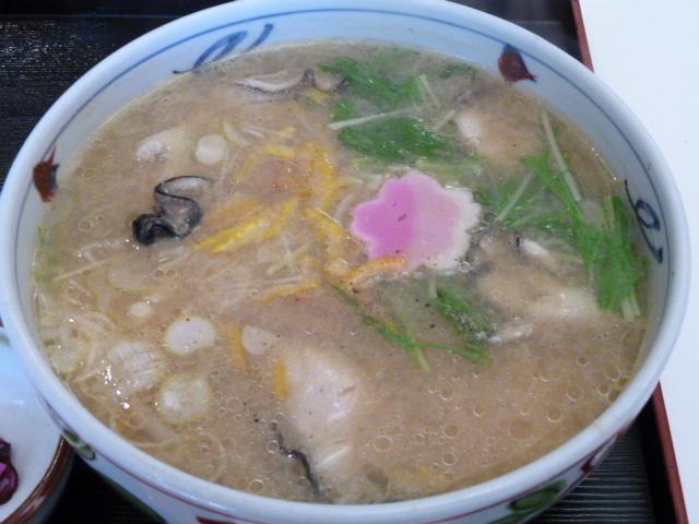 はなむら 広島産牡蠣みそラーメン