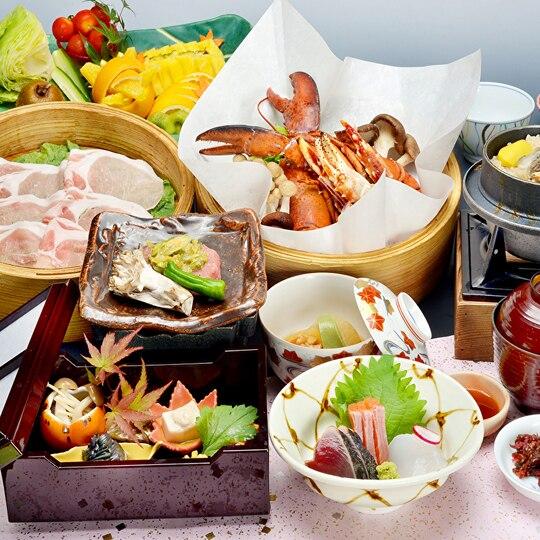 ホテル天坊 セイロ蒸し料理プラン