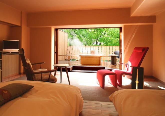 ホテル天坊 露天風呂付き客室