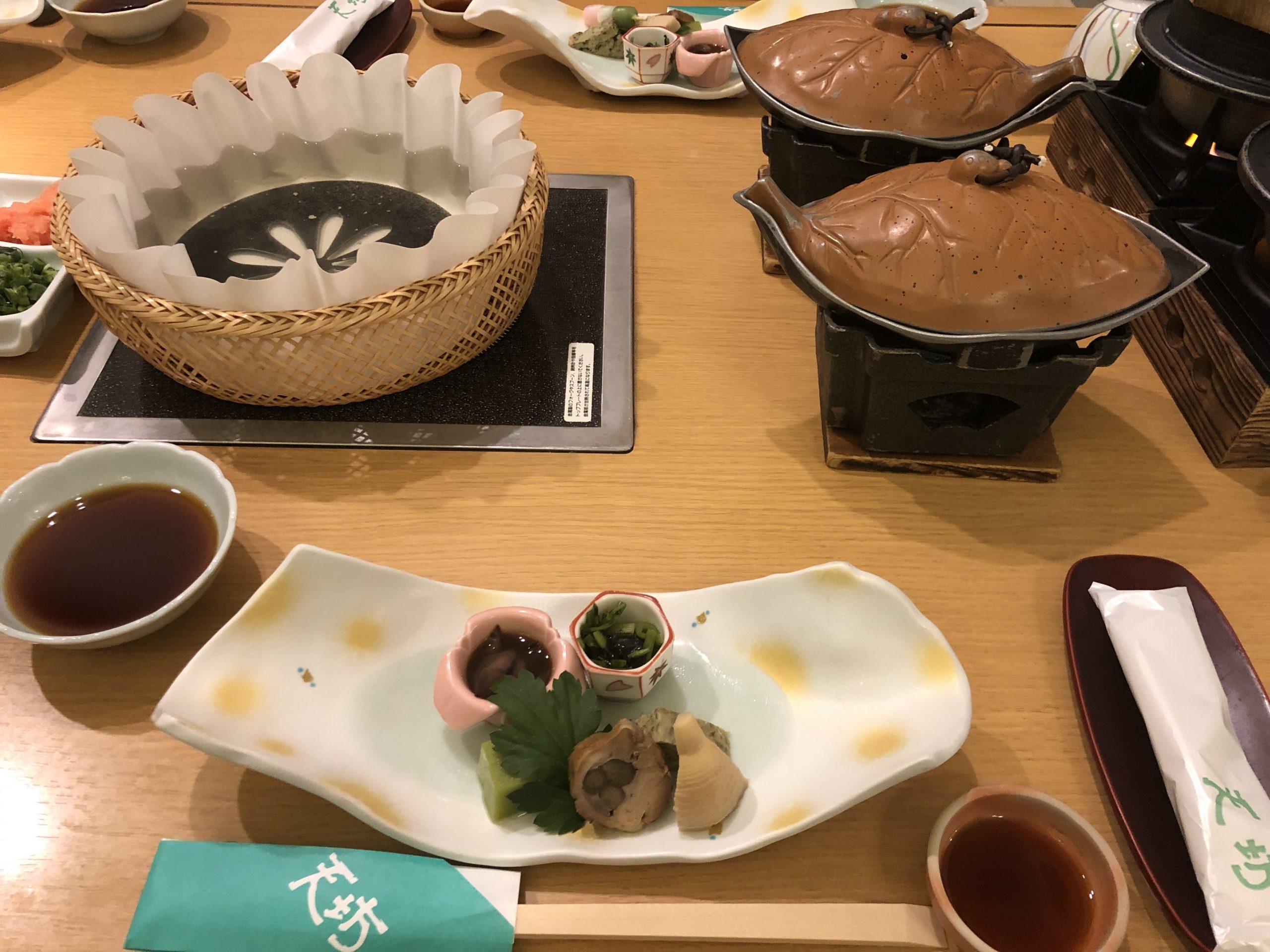 ホテル天坊 夕食
